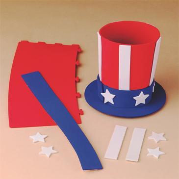 Uncle Sam's Hat Craft