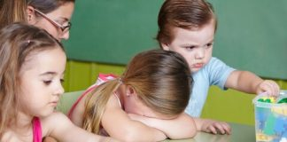 child unhappy in daycare
