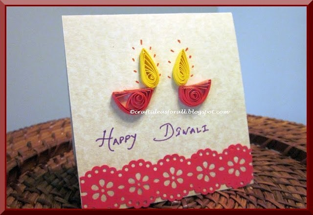 Diwali Card DIY Ideas for kids