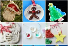 Play Dough Christmas Crafts for kids