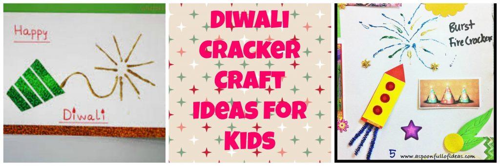 Diwali cracker Craft DIY for kids