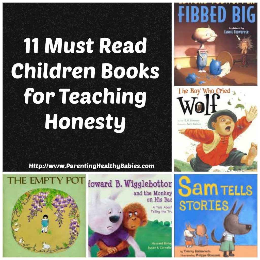 must read books to teaching honesty to children