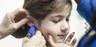 baby ear piercing care