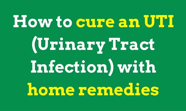 11 Home Remedies for UTI in Women