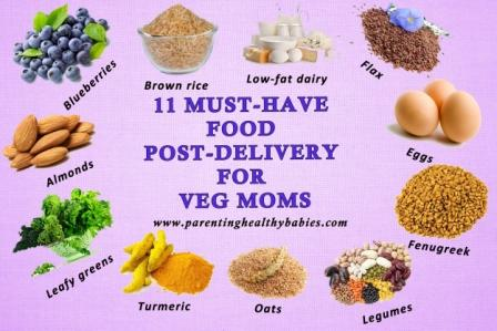 must have food for veg moms