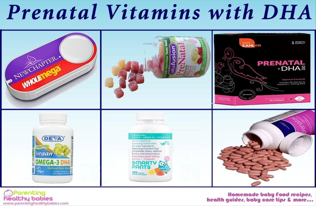 vitamins with DHA