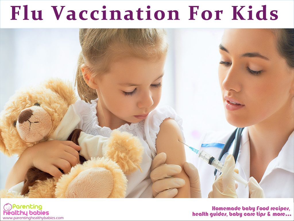 flu vaccination for kids