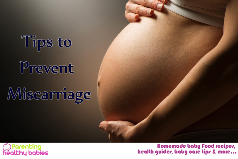Miscarriage prevention tips