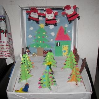 Christmas Shoebox craft
