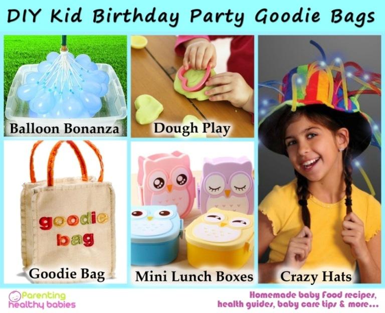 Goodie Bags Ideas