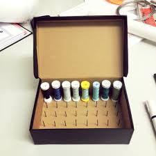 DIY Thread Spool Box