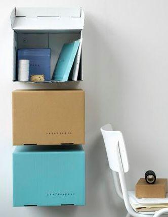 Boxy Shelves