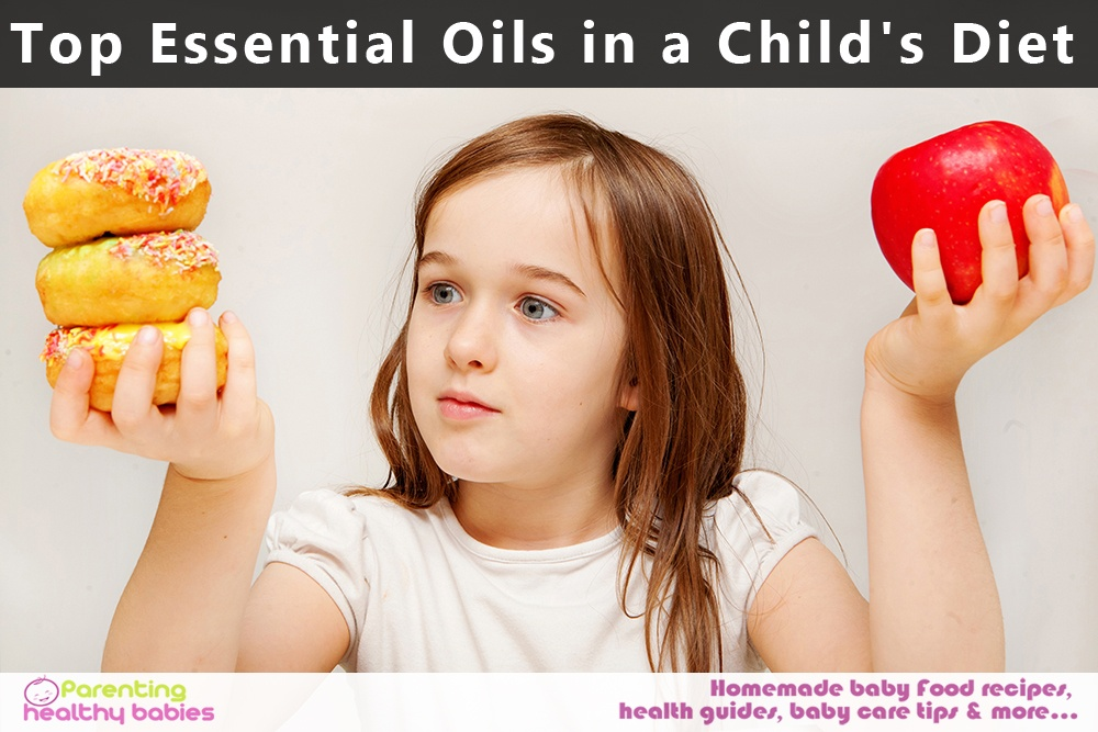 oils in a child's diet