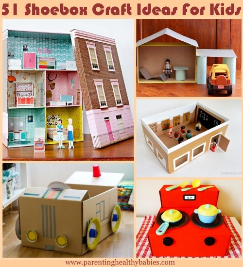 Shoebox Craft Ideas