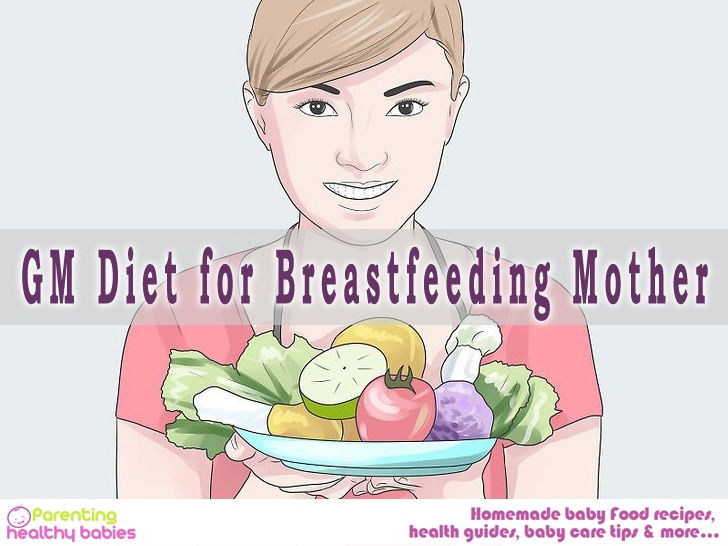 GM Diet for Breastfeeding Mother