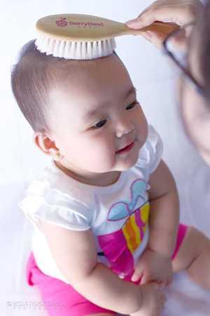 baby hair brush natural bristle, baby hair brush and comb set, natural baby hair brush,