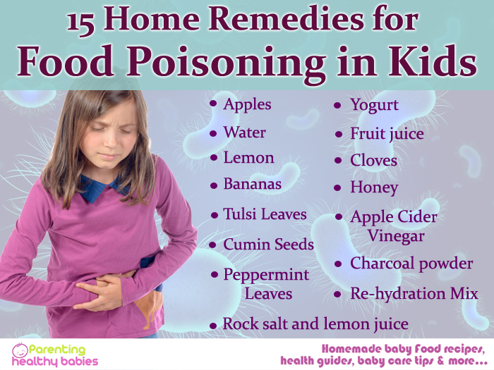 food poisoning in toddlers, signs of food poisoning in kids, food poisoning kids, home remedies for food poisioning