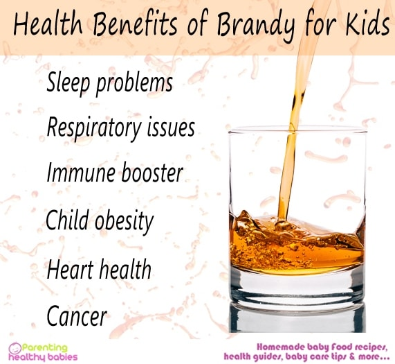 benefits of brandy