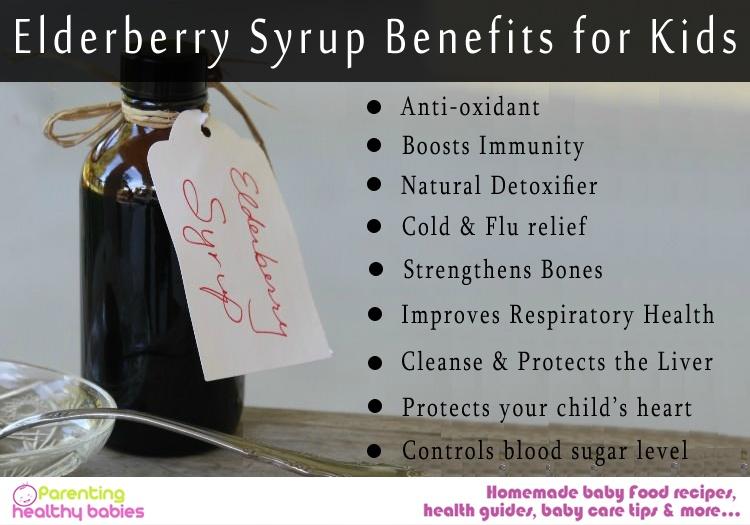 Elderberry syrup benefits
