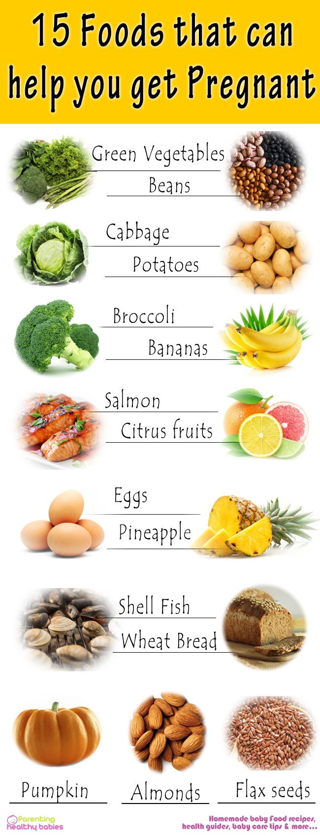 foods to get you pregnant