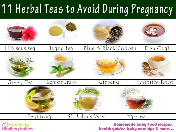 avoid tea during pregnant