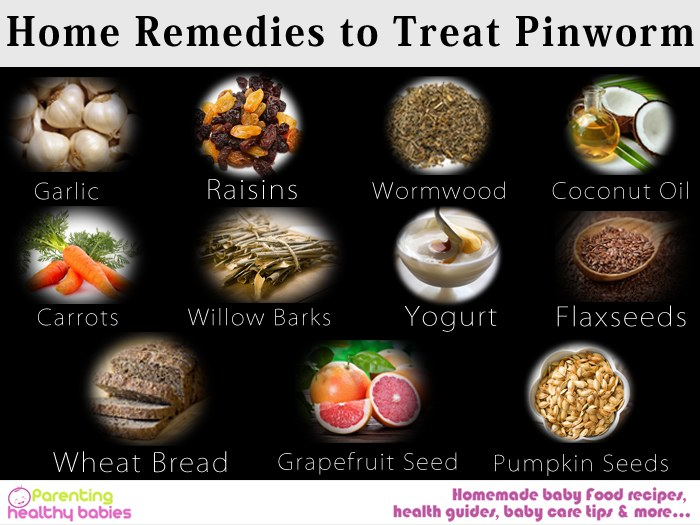 pinworms treatment