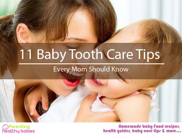 Baby Tooth Care Tips