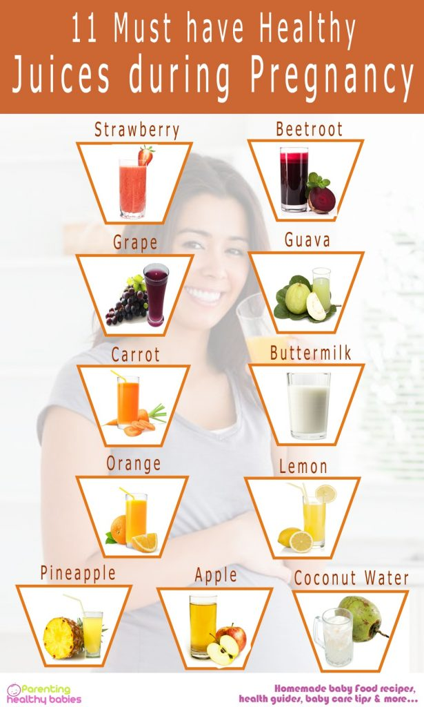 juices during pregnancy