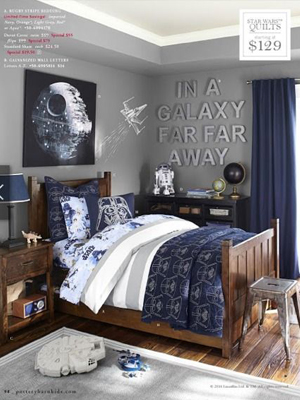 Star wars theme beds