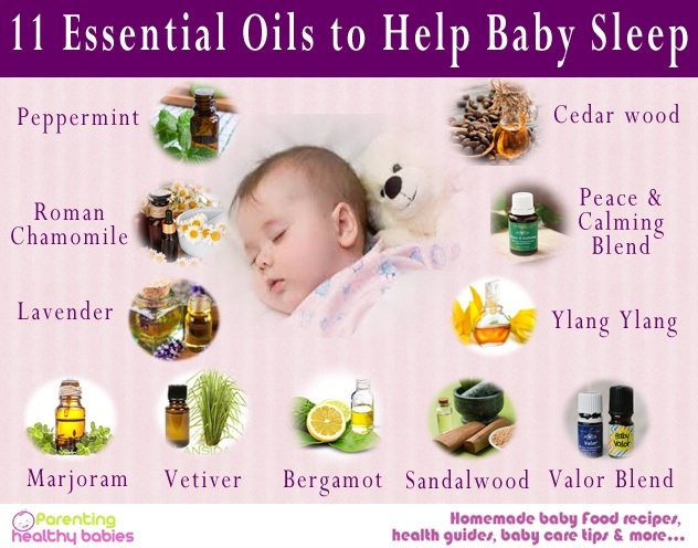 baby sleep oils