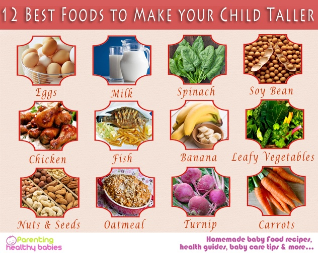 child taller food