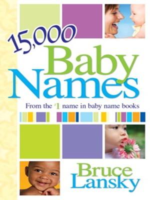 15000 Baby Names by Bruce Lansky