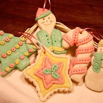 Christmas Environment cookies