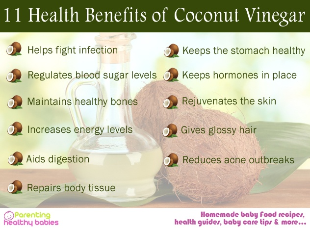Coconut Vinegar benefits