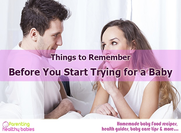 start trying baby