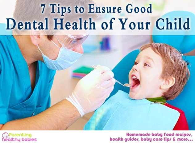 dental health of your child