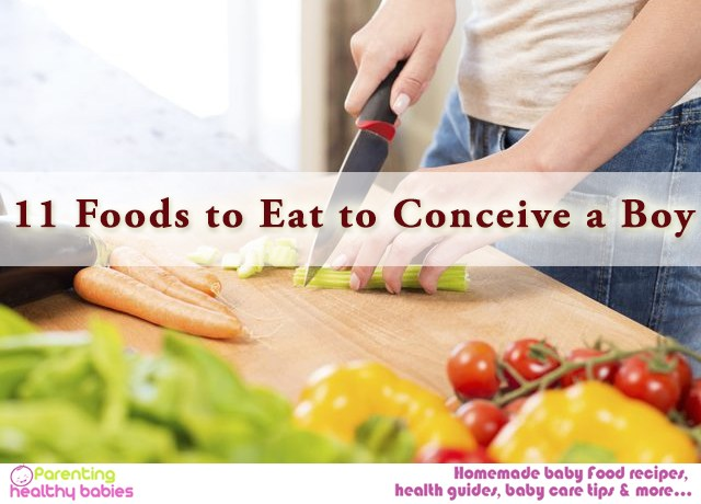 Foods to Eat to Conceive a Boy