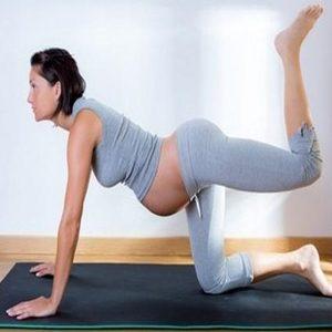 Lifted pelvic stretch