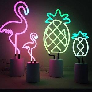Neon Flamingo Light