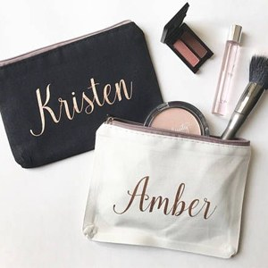 Personalized Large Makeup or Wash Bag