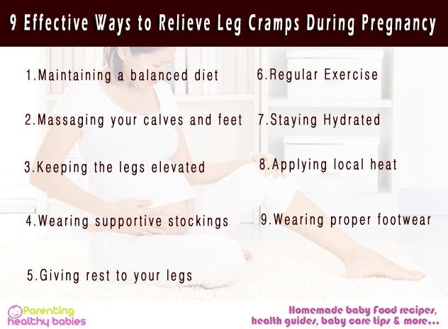 Relieve Leg Cramps