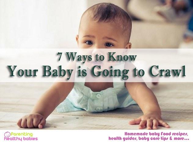 baby crawl