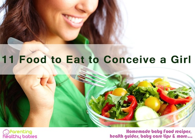 11 food to eat to conceive a girl