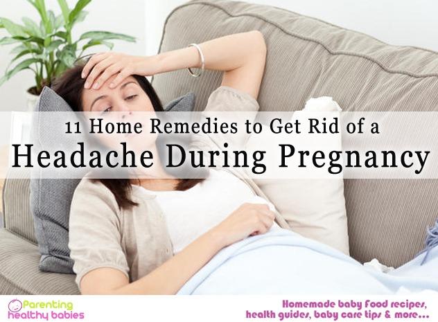 pregnancy headache
