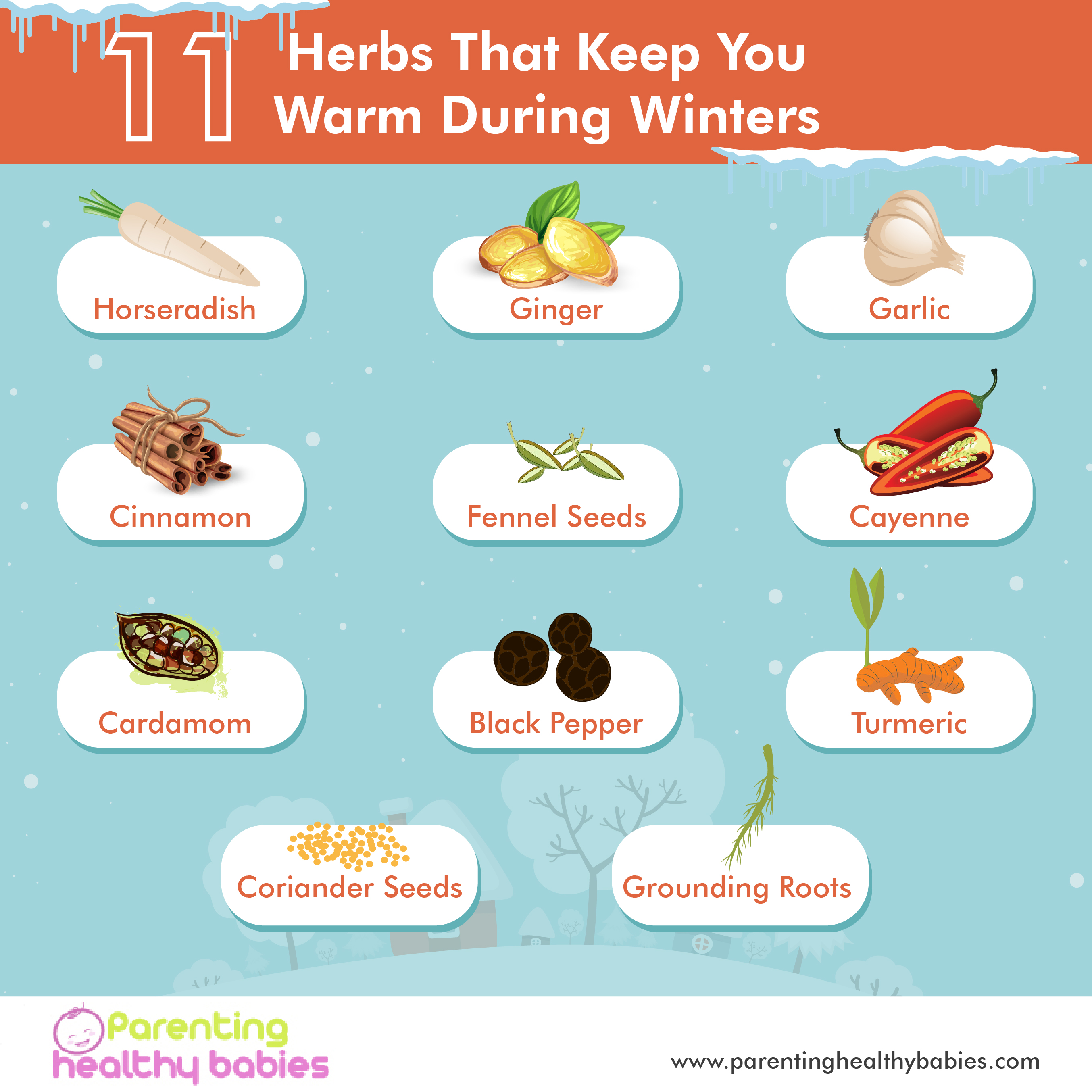 herbs that keep warm