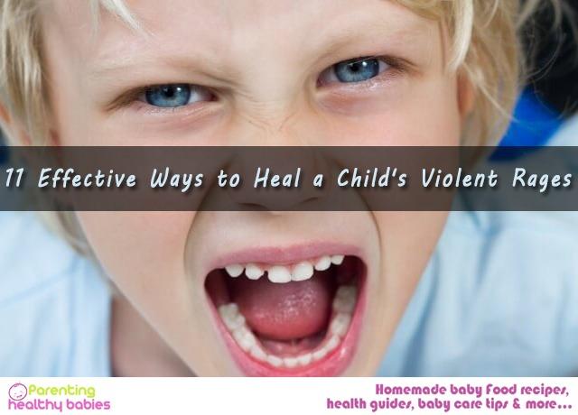 Child's Violent Rages