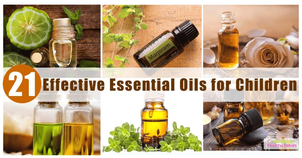Effective Essential oils for children