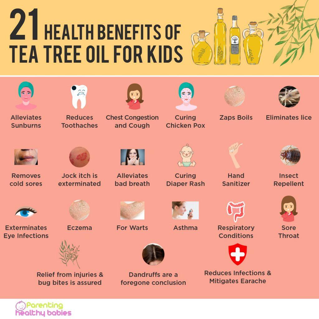 Tea Tree Oil for Children