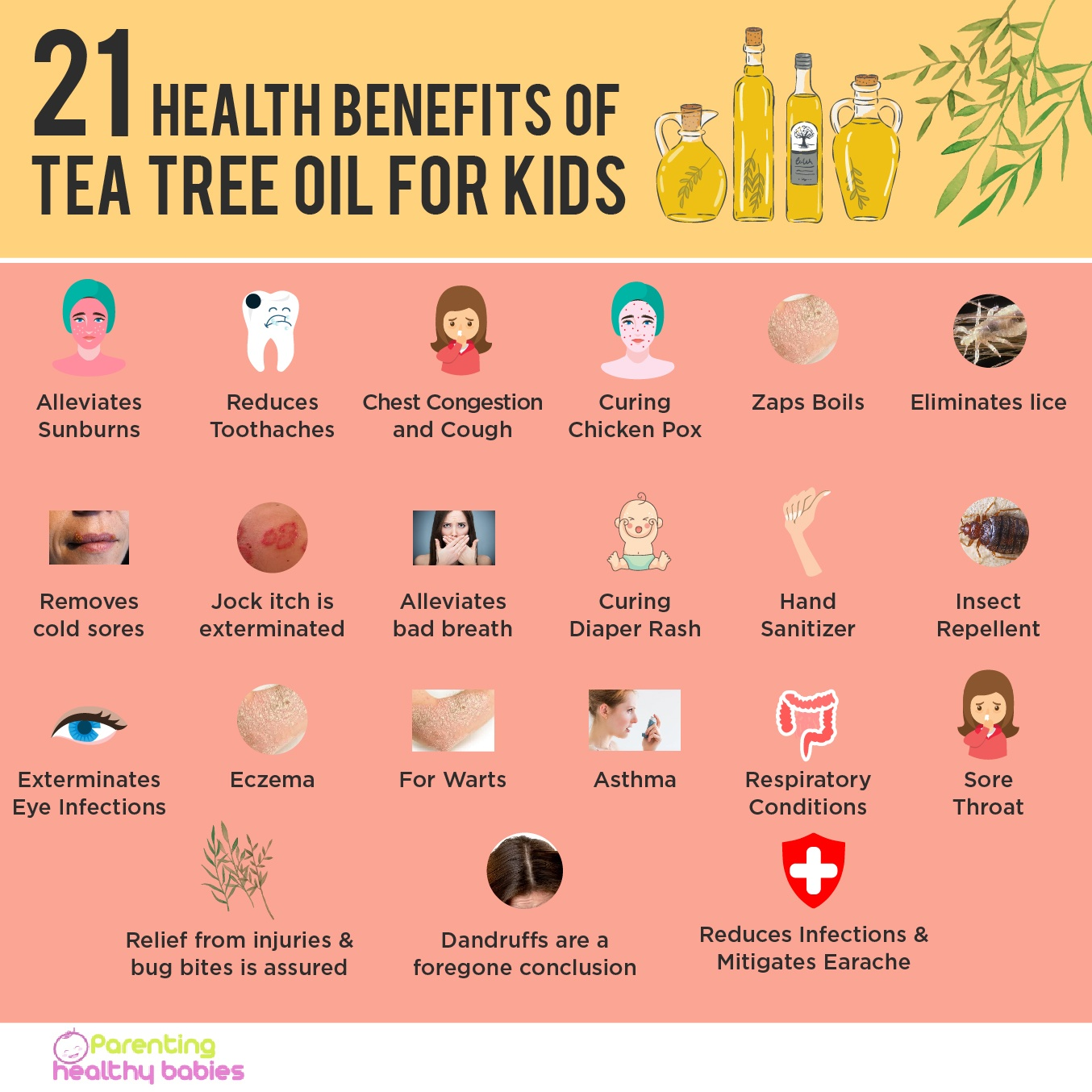 Tea Tree Oil for Children