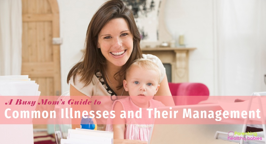 busy mom guide for illnesses